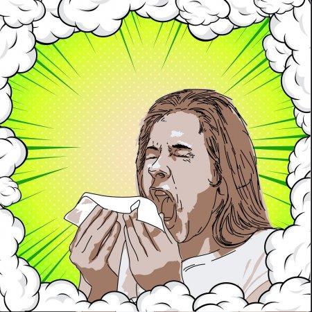 Аллергия - это чрезмерно избыточная реакция организма